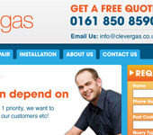 Clever Gas Web Design