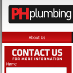 PH Plumbing and Heating Web Design